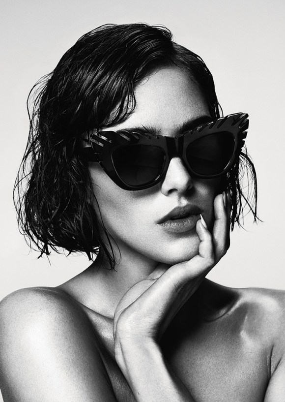 Eliza Cummings by Damon Baker for House Of Holland Eyewear