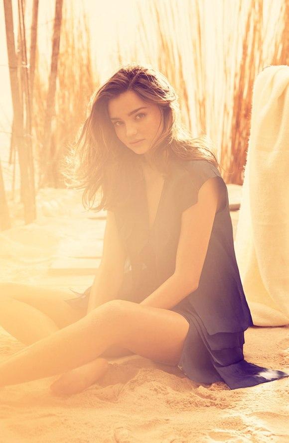 Miranda Kerr by Alexi Lubomirski for Harper's Bazaar UK
