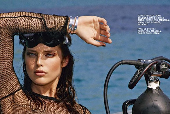 Emily DiDonato photographed by Mark Segal for Lui Magazine, July & August 2014 1