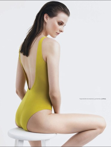 Vasilisa Pavlova by Andrew Yee for L'Officiel Mexico