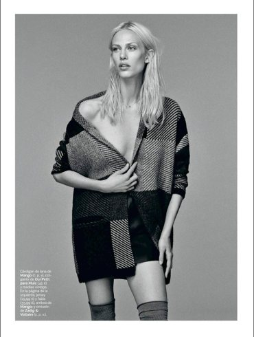 Aymeline Valade by Damon Baker for S Moda