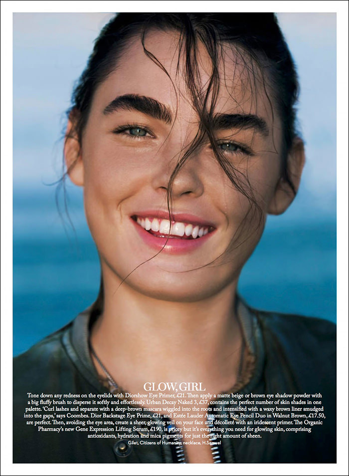 Bambi Northwood-Blyth photographed by Enrique Badulescu for Marie Claire UK, September 2014