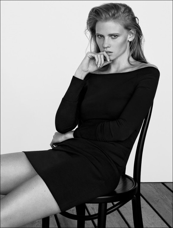 Lara Stone by Ben Weller for The Edit