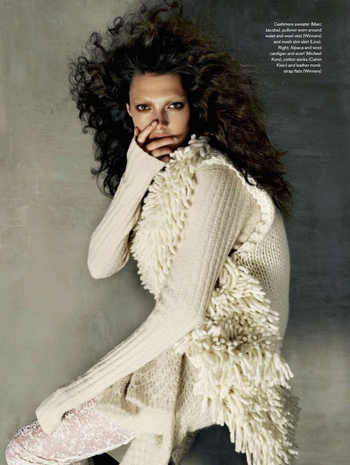 Kristen Murphy by Leda and St. Jacques for Elle Canada