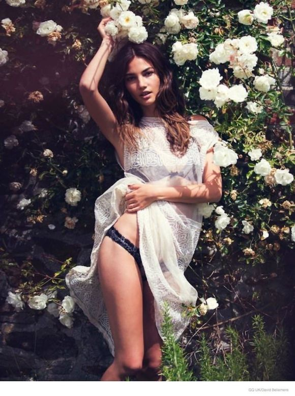 Lily Aldridge by David Bellemere for GQ UK