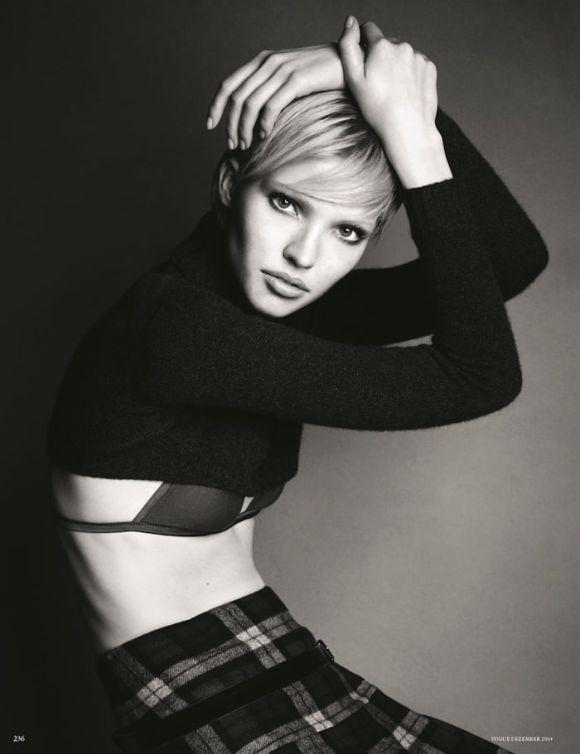Sasha Luss by Luigi and Iango for Vogue Germany