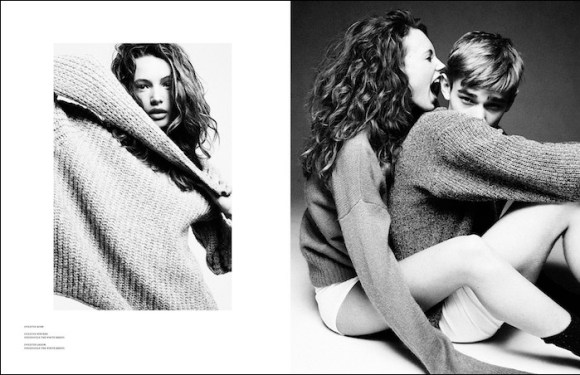 Mona Johannesson in Swedish Kittens by Andreas Ohlund for Scandinavia SSAW