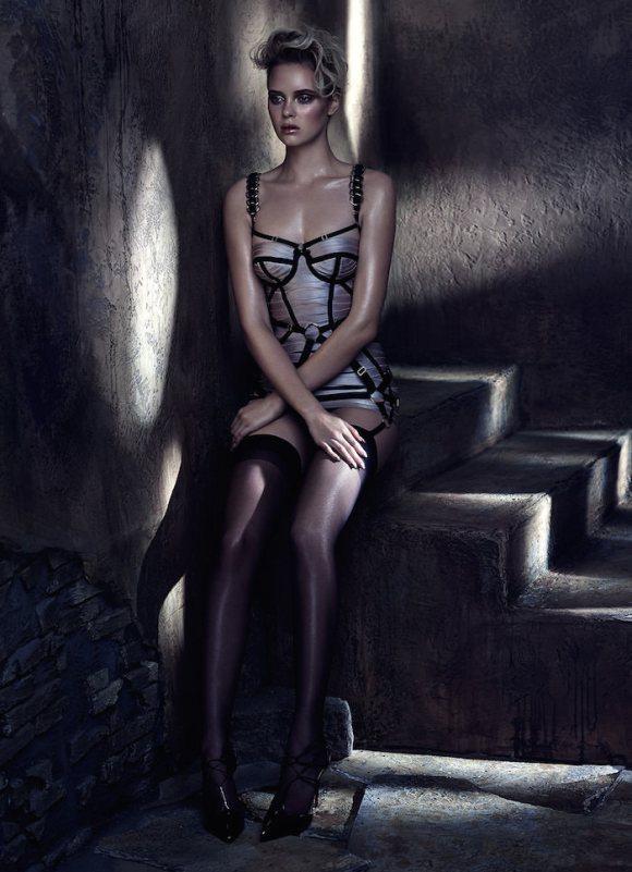 Masha Markina by Chris Nicholls for Fashion Canada