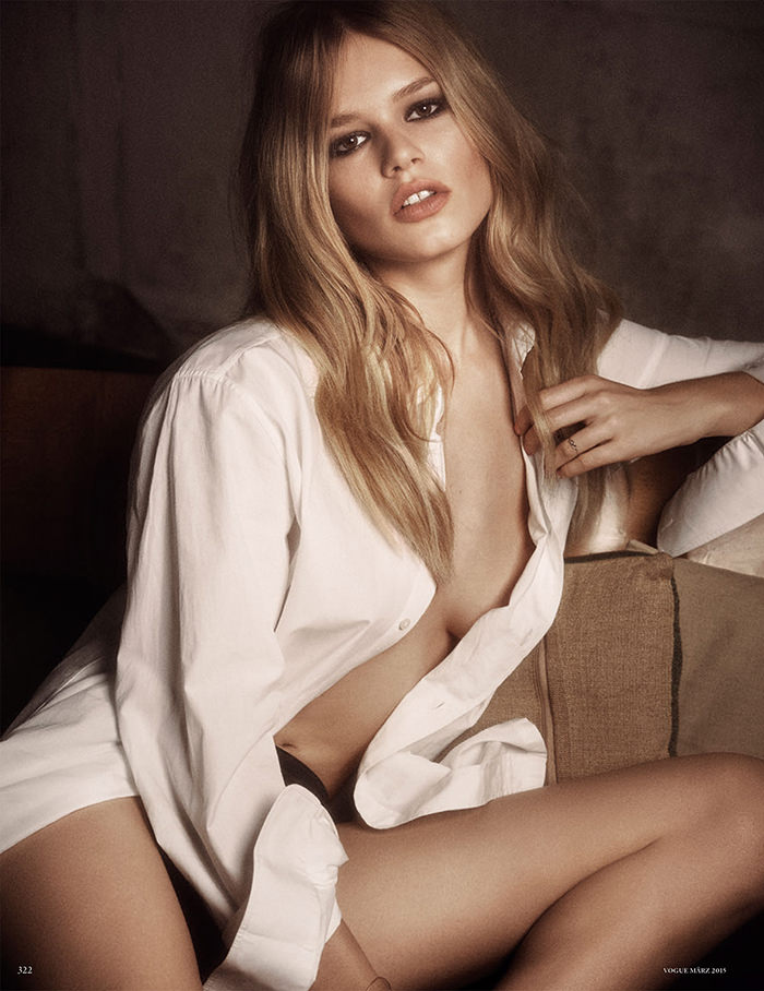 Anna Ewers photographed by Luigi & Iango for Vogue Germany