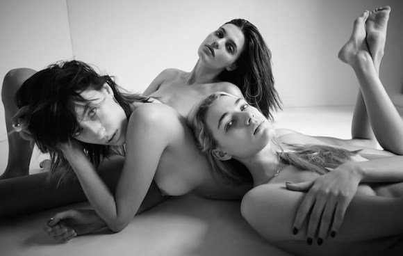 Maria Gornostaeva, Alix Angjeli and Maria McDonnell by Manolo Campion