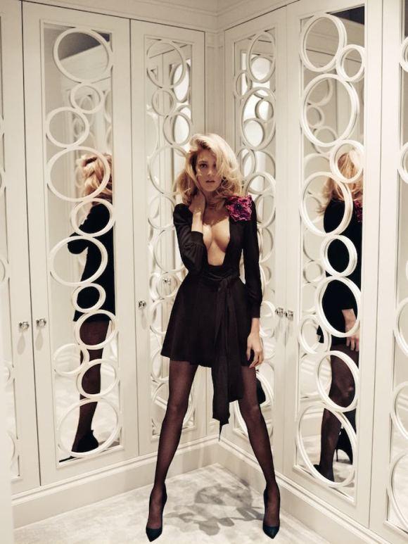 Anja Rubik by Mario Testino for Vogue Paris