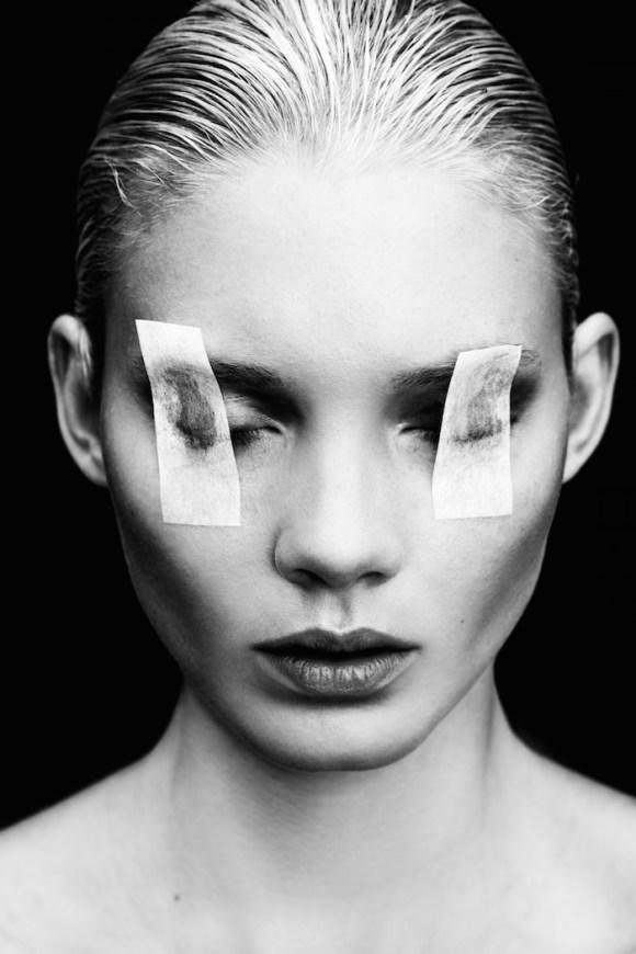 Daria Zhemkova by Mario Kroes for REVS Magazine