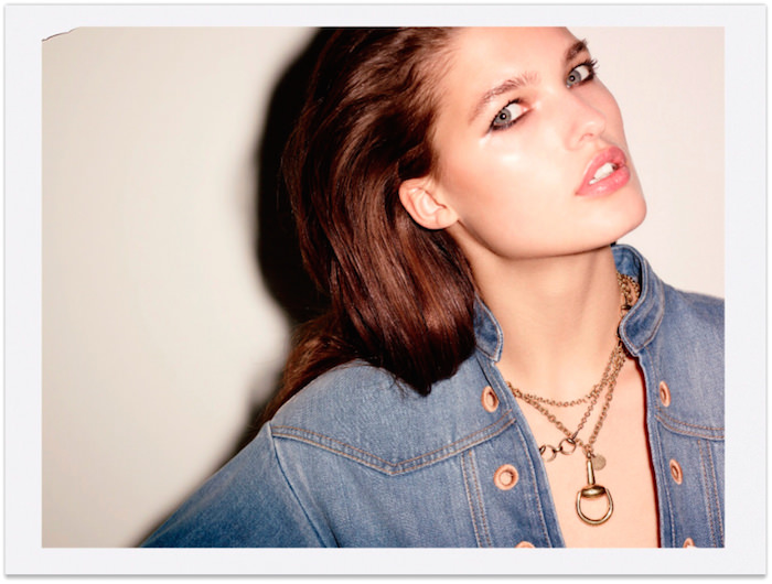 Julia van Os photographed by Ezra Petronio for Flair No. 15