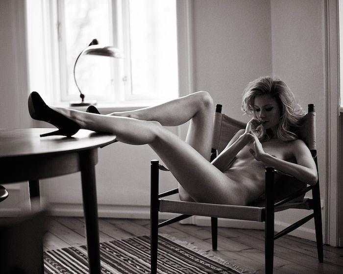 Nina Lund by Henrik Adamsen for Euroman