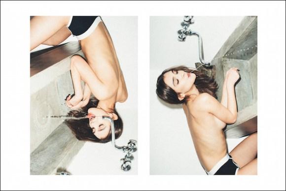 Paula Bulczynska by Emanuele Ferrari for P Magazine