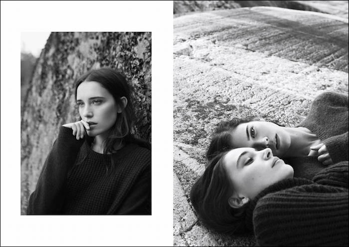Simone Flinthøj & Maja Simonsen photographed by Sara Bille for My Magazine