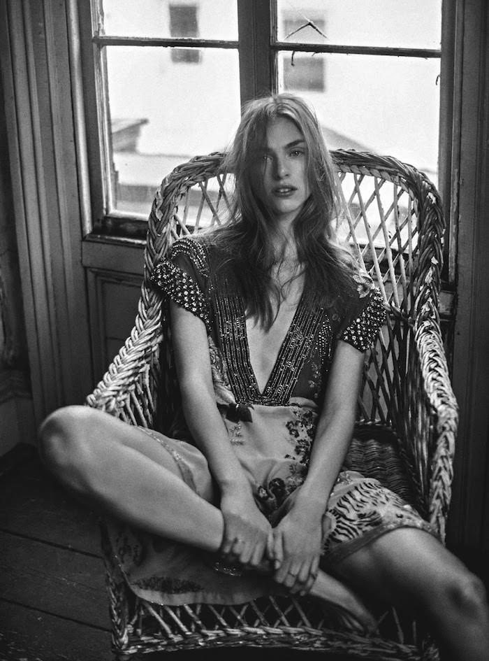 Hedvig Palm by Sebastian Kim for Vogue Australia