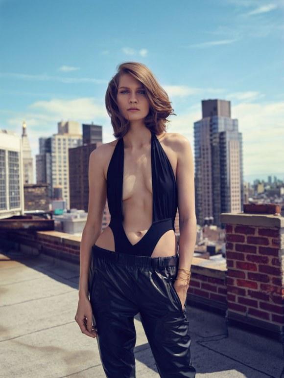 Karolin Wolter by Miguel Reveriego for Vogue Turkey