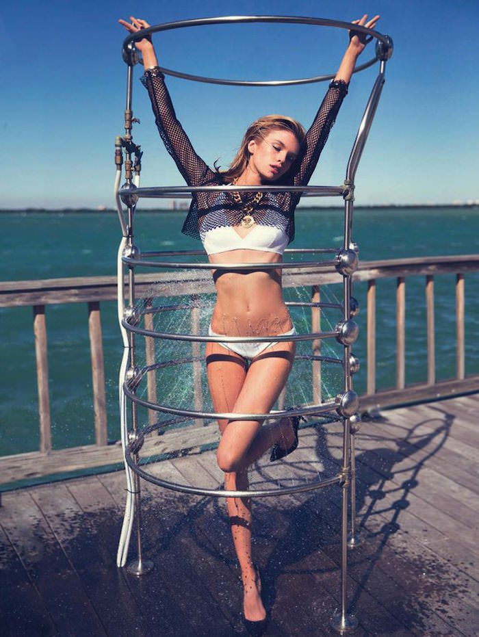 Stella Maxwell photographed by David Bellemere for Marie Claire Italy, June 2015