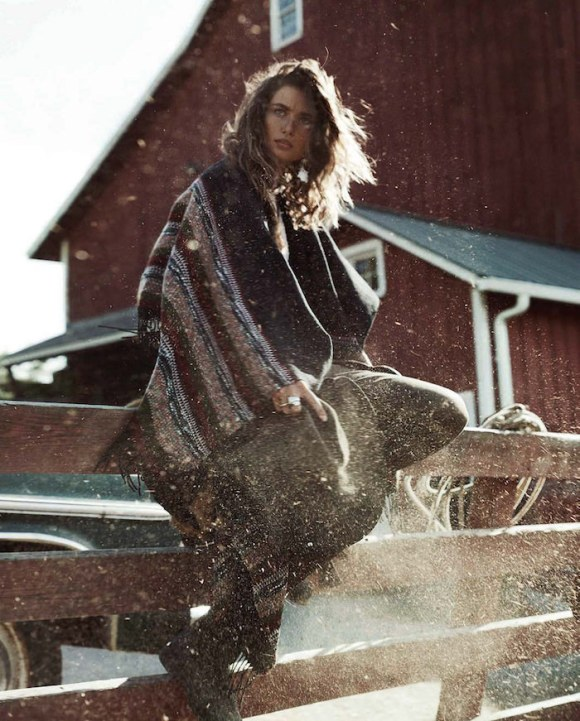 Andreea Diaconu by Benny Horne for Vogue Spain