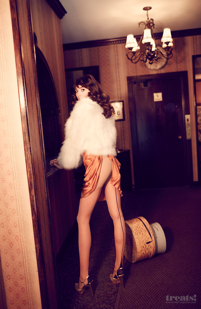Cora Keegan by Amanda Pratt for Treats! Magazine