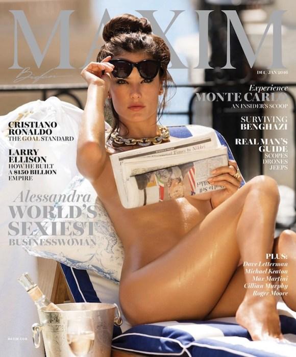 Alessandra Ambrosio by Gilles Bensimon for Maxim Magazine