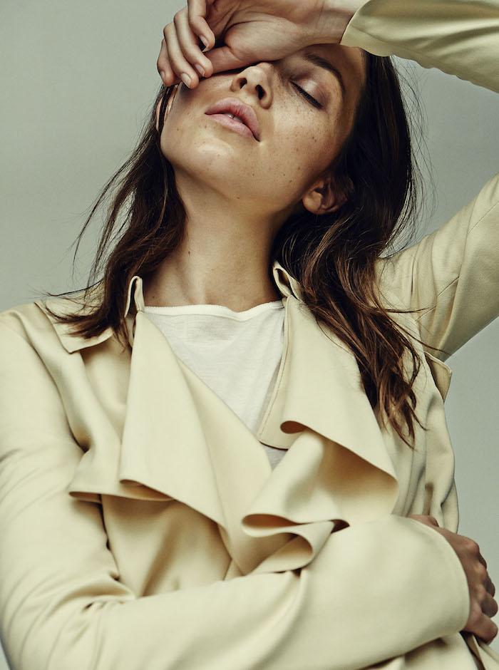 Hanna Sorheim photographed by Sascha Oda for Costume Magazine, December 2015