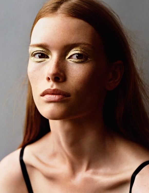 Julia Hafstrom by Alasdair McLellan for Vogue Paris