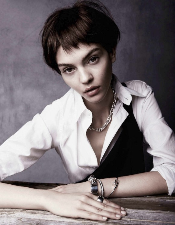 Kate Bogucharskaia by Ruben de Wilde for Vogue Netherlands
