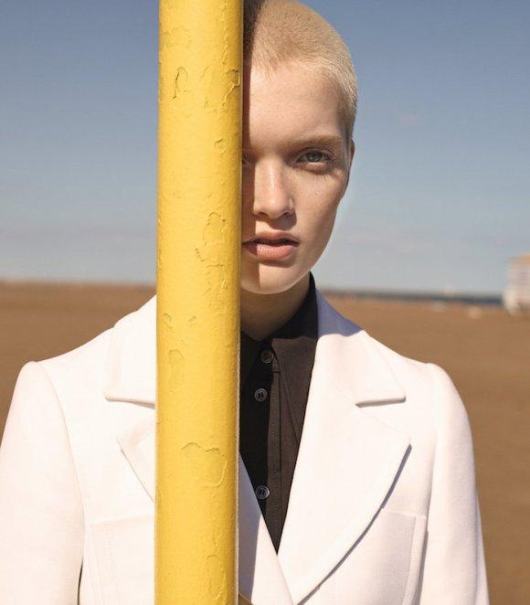 Ruth Bell by Karim Sadli for T Magazine