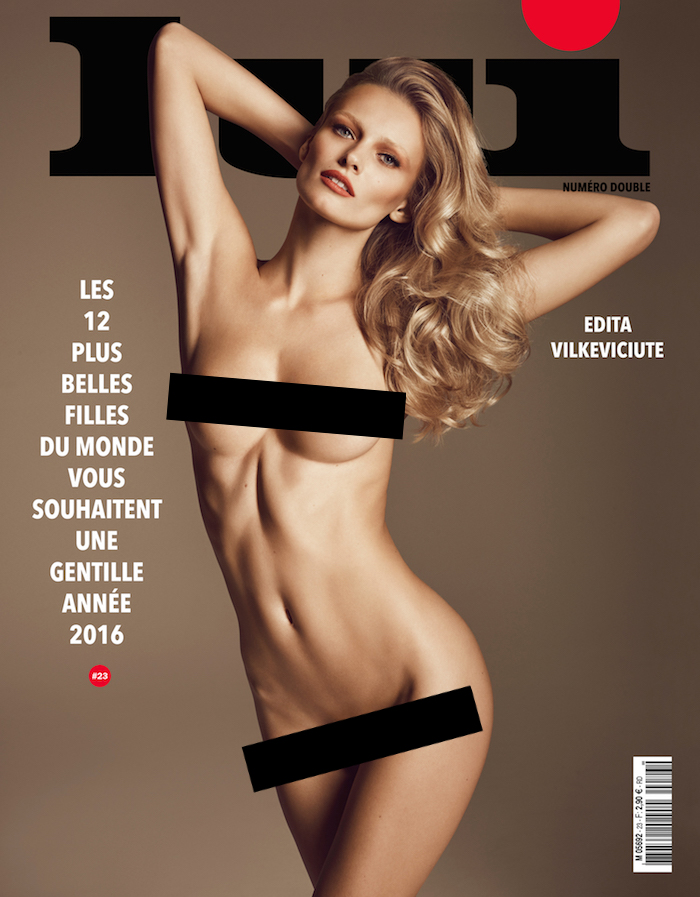 Covers: Lui Magazine, December 2015