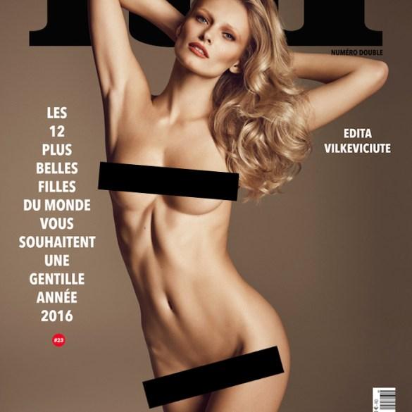Covers: Lui Magazine, December 2015 2