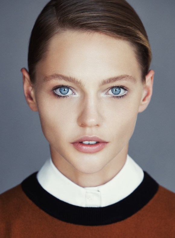 Sasha Pivovarova by Patrick Demarchelier for Allure Magazine