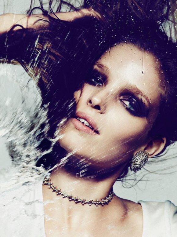 Alisa Ahmann by Ben Hassett for Vogue Paris