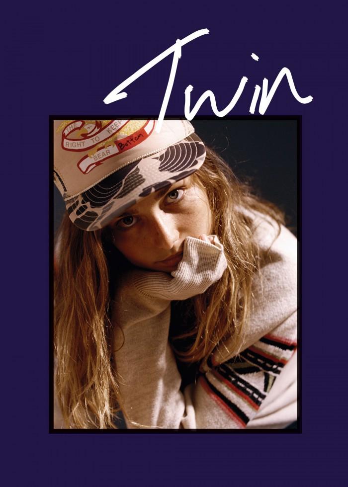 Andreea Diaconu covers Twin Magazine