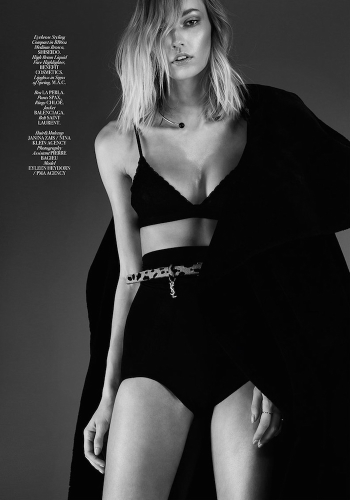 Eileen Heydorn by Domenic Herder for L'Officiel Malaysia