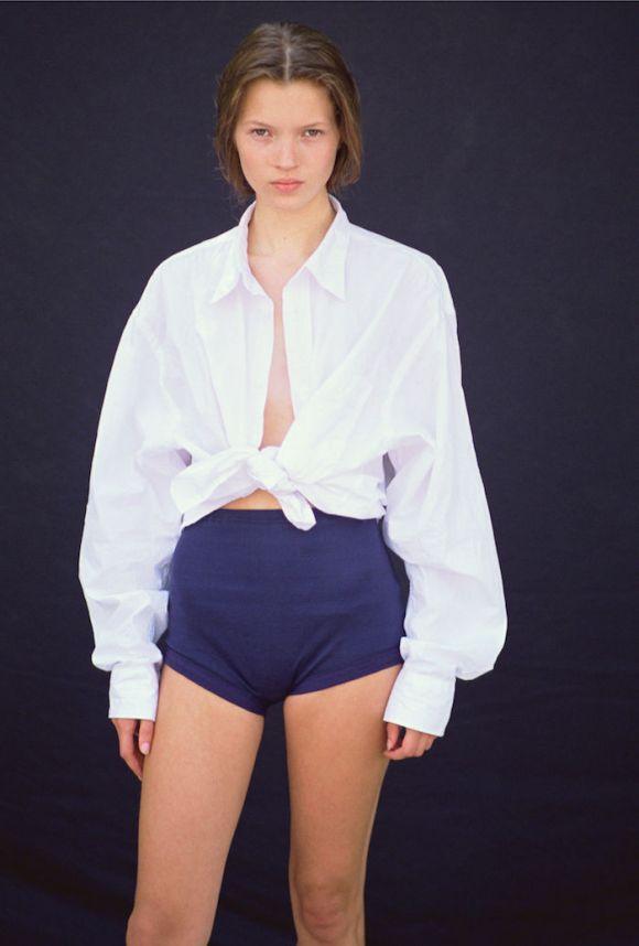 Kate Moss by Owen Scarbiena