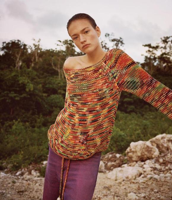 Sophia Ahrens by Angelo Pennetta for WSJ Magazine