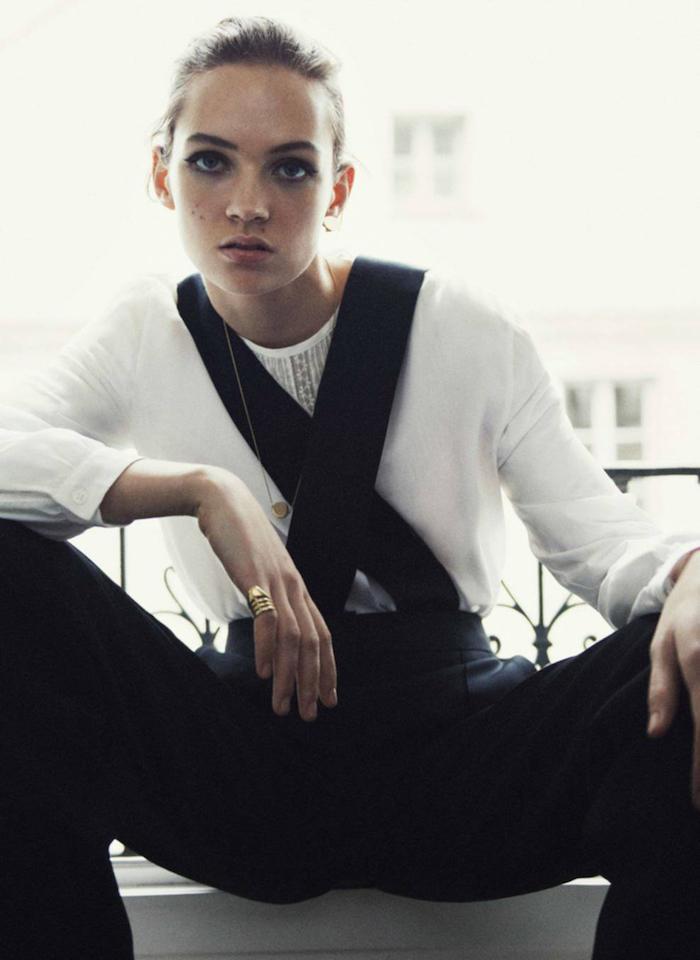 Adrienne Juliger by Claudia Knoepfel for Vogue Paris