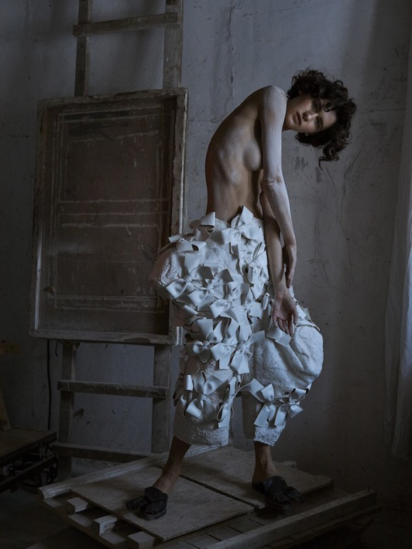 Iana Godnia by Phil Poynter for Vogue Ukraine