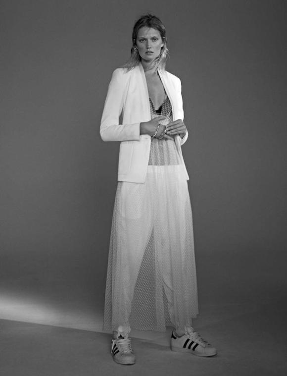 Toni Garrn by Benjamin Lennox for L'Express Styles