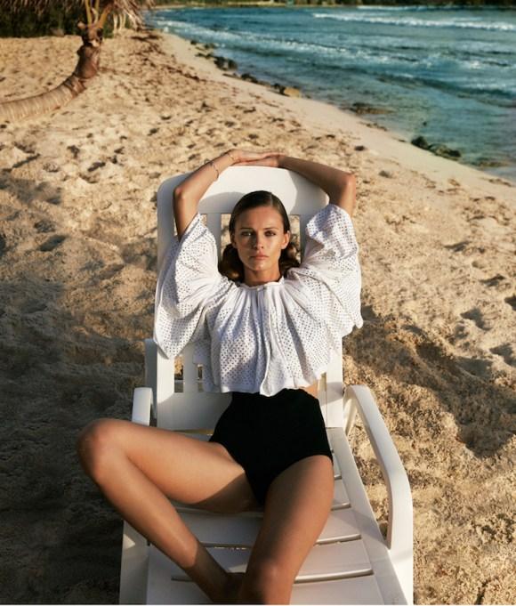 Edita Vilkeviciute by Cass Bird for WSJ Magazine
