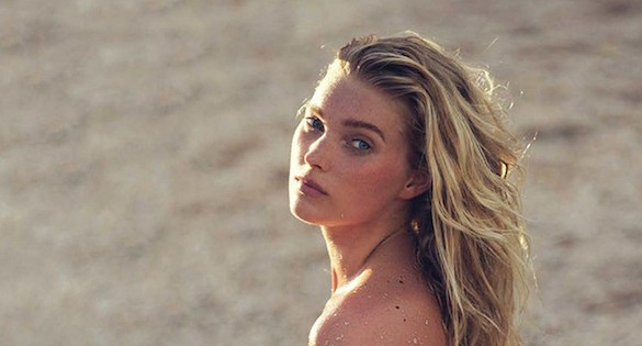 Elsa Hosk photographed by David Bellemere for Vogue Spain Belleza, April 2016 1