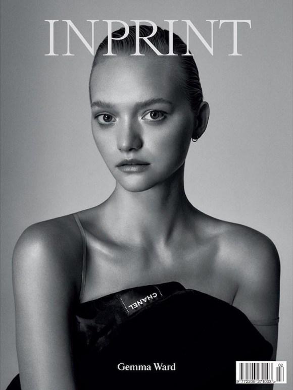 Gemma Ward by Darren McDonald for Inprint Magazine