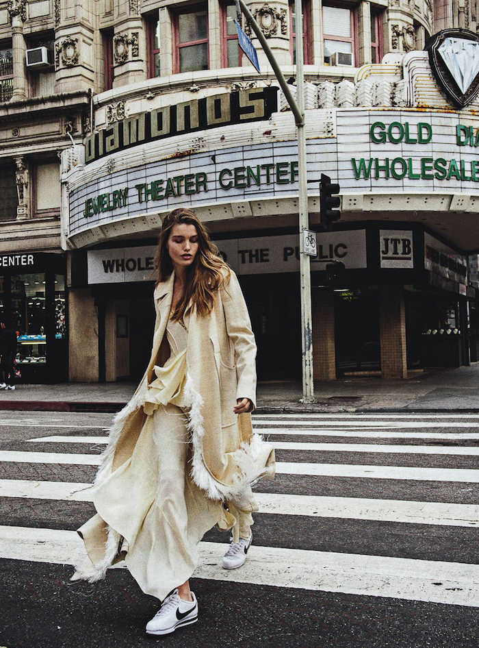Luna Bijl by Sebastian Kim for Vogue Australia