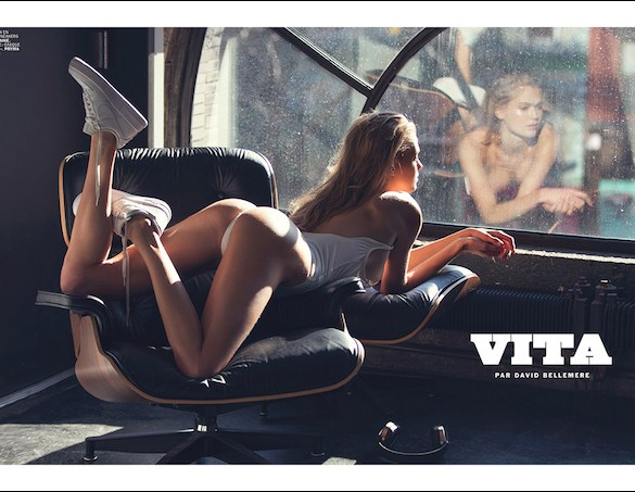 Vita Sidorkina by David Bellemere for Lui Magazine