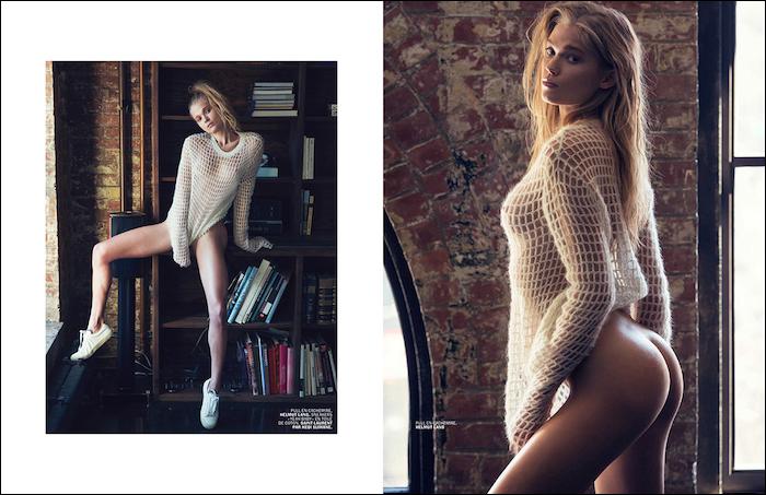 Vita Sidorkina by David Bellemere for Lui Magazine