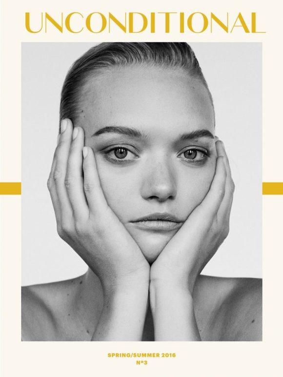 Gemma Ward by Alexandra Nataf for Unconditional Magazine