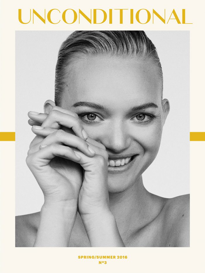 Gemma Ward covers Unconditional Magazine
