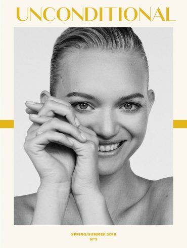 Gemma Ward by Alexandra Nataf for Unconditional Magazine